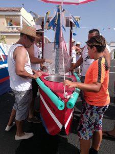 Romería Barquera |© Comisión de Fiestas La Caleta 2017