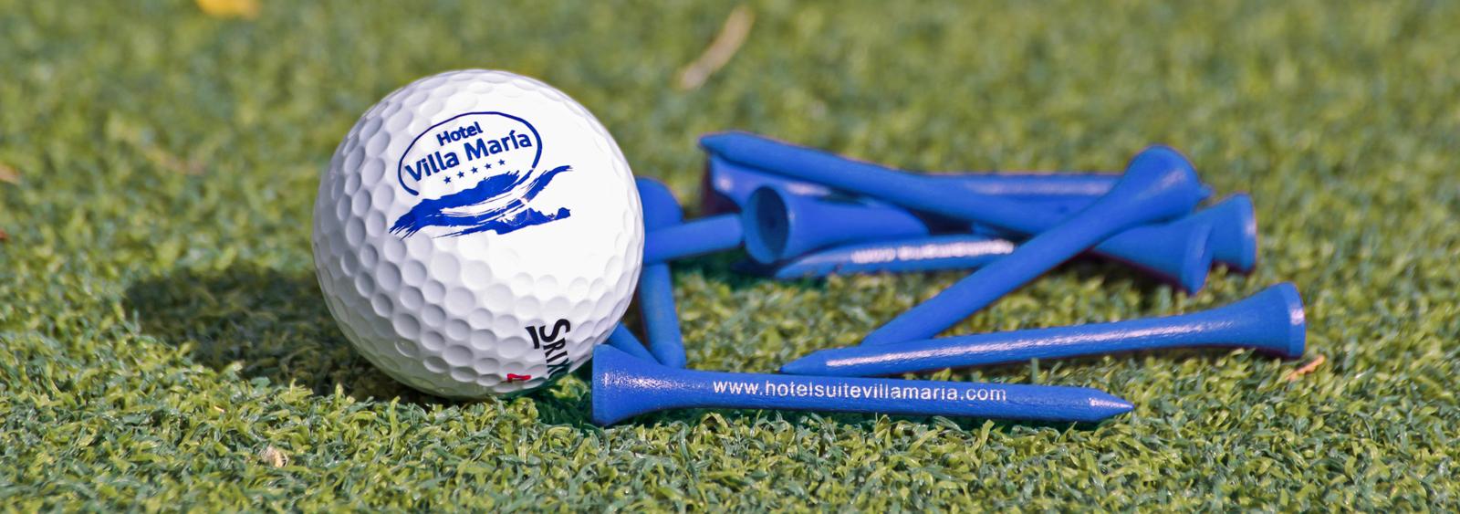 pelota mini golf2 HS Villa MariaNavy